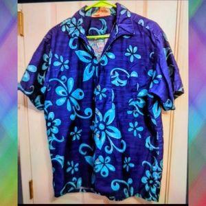 Vintage Go Bare Men's Aloha Large Shirt